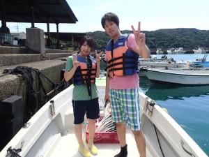 8月27日 船で行くシュノーケリング体験!