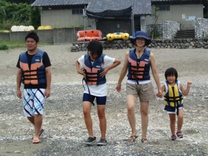 8月29日 カヤック体験!
