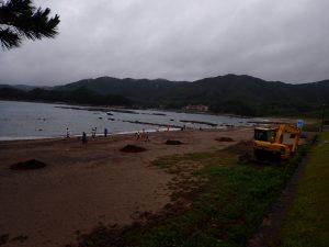 桜浜!海開き